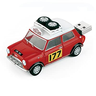 4GB RALLY 177 Mini Cooper USB Flash Memory Drive by JellyFlash