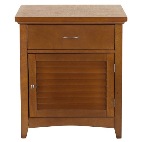 Night Stand Oak front-1061317