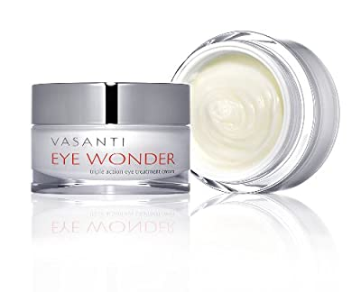 EYE WONDER #1 Eye Treatment Cream - Triple Action, Clinically Proven Petptides & Botanicals Reduce Dark Circles, Puffiness, Wrinkles & More! 100% Paraben Free, Safe Anti-Aging, Huge 20mL! Boost Collagen, Look Younger