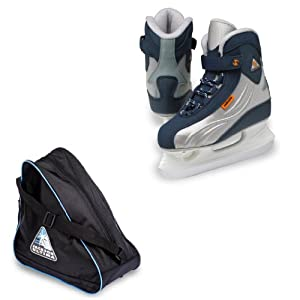Jackson Softec Sport ST2207 Kids Hockey Ice Skates with Jackson JL300 Bag by Jackson