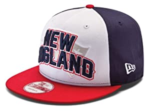 New England Patriots 9FIFTY Snapback New Era Draft Hat NFL by New Era