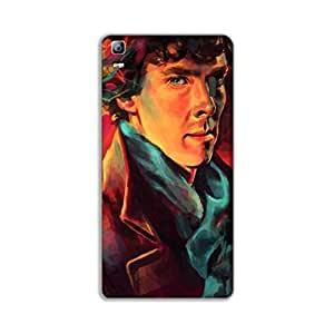 Mott2 SherlockHolmes Back cover for Lenovo A7000 (Limited Time Offers,Please Check the Details Below)