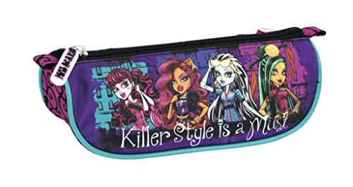 Exclusiv*Monster High Federtasche Monster High Schlamperrolle Kosmetiktasche Draculaura EDEL