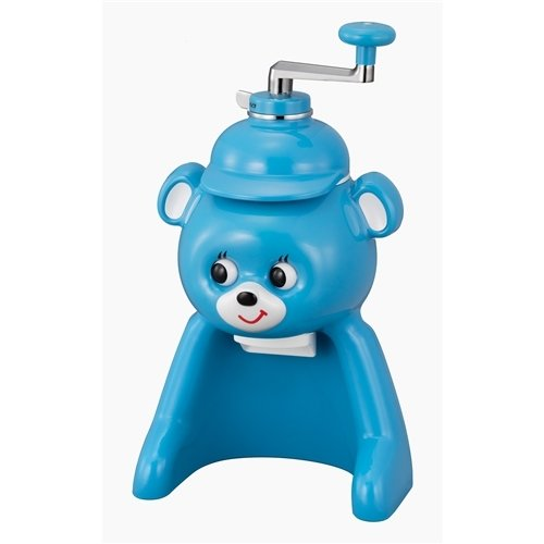 タイガー 氷削り器 きょろちゃん ブルー ABF−F100AK