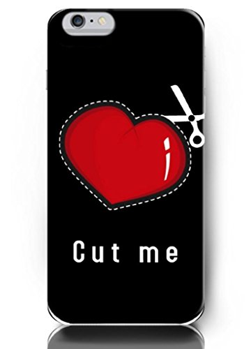 Ouo New Unique Hard Cover For 5.5 Inch Screen Iphone 6 Plus Case With Design Of Heart And Knife Gift For Girl