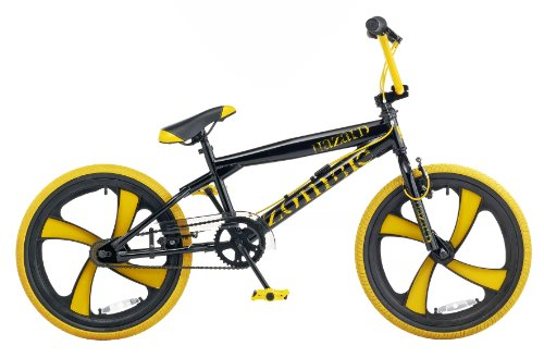 Zombie Hazard Boy's Bike - Black/Yellow, 20 Inch