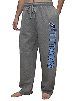 NFL Mens Tennessee Titans Heavy Weight Winter Lounge & Sleep Pants