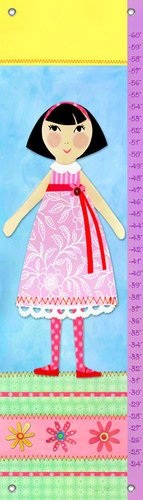 Oopsy Daisy Growth Charts My Doll 5 Flick, 12 x 42""