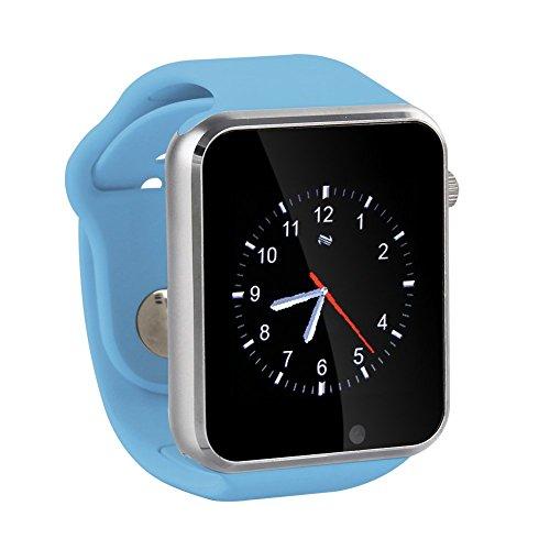 GENORTH Sport Montre de Sport Montre Téléphone Bluetooth Smartwatch SIM avec Podomètre anti-perte appareil appelé rappel entièrement compatible avec Smartphone Android