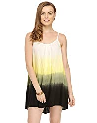 Ombre Dyed Strappy Dress Large