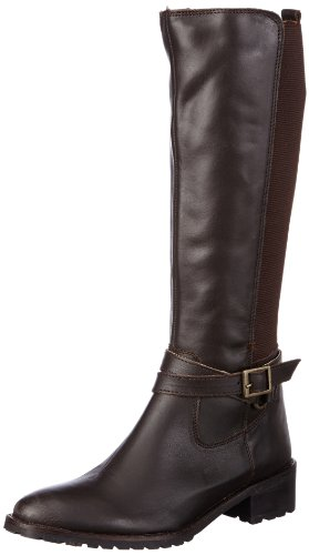 Buffalo London Womens 1732 COW SLIGHTLY MILD Boots Brown Braun (TESTA 03) Size: 6 (39 EU)