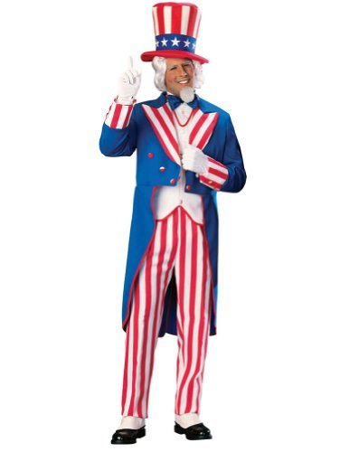 Uncle Sam Adult Xl Adult Mens Costume