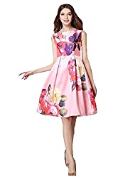 Top{(Choice Fashion_Pink_Multi Roze_Satin Women's Top)}