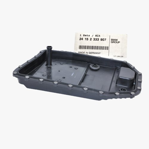 BMW Automatic Transmission Oil Pan Filter Gasket Plug BMW Genuine OE