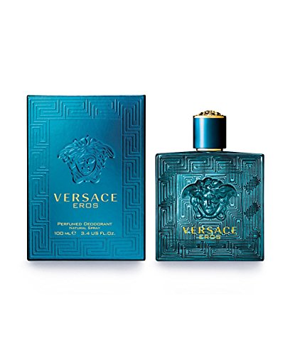 Eros di Versace, Deodorante Uomo - Spray 100 ml.