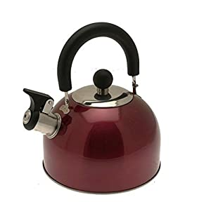 Royal 2 Litre Colour Kettle - Red Outdoor Camping