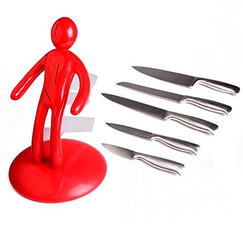 The Ex 5 Piece Set Chef 39 S Knife Unique Artistic Plastic