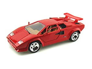 Lamborghini Countach 5000 1/18 Red from Lamborghini