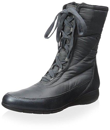 Sudini da donna Gwen freddo Snow Boots Booties Taglie UK, grigio (Grey), 37 1/3