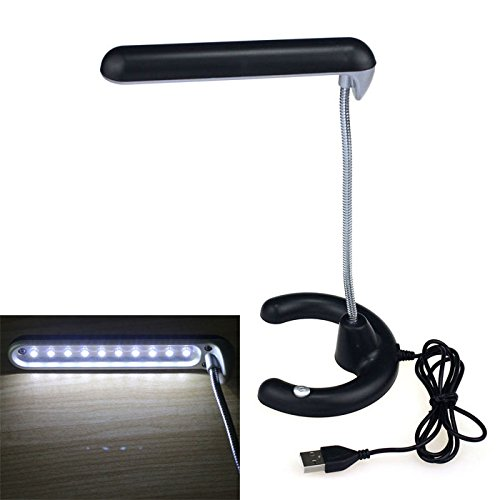 Bluesky Can Be Bent Love Study Reading 10 Led Usb Light Desk Table Lamp