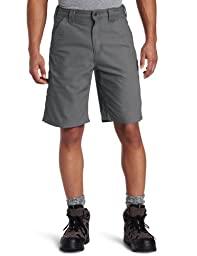 Carhartt Men\'s Canvas Work Short B147,Fatigue,36