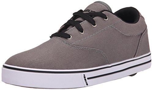 Heelys Men's Launch Fashion Sneaker, Grey, 10 M US (Wheelies Shoes compare prices)