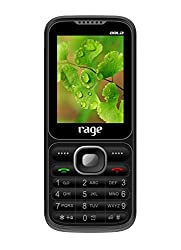 Rage 2404 Dual SIM with Camera FM Bluetooth MP3 Player (Black/grey)