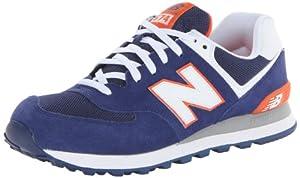 New Balance ML574 D 14E 357261-60 Herren Sneaker, Mehrfarbig (BWO BLUE 5), EU 43 (US 9.5)