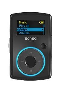 Sandisk Sansa Clip Tragbarer MP3-Player 2 GB schwarz