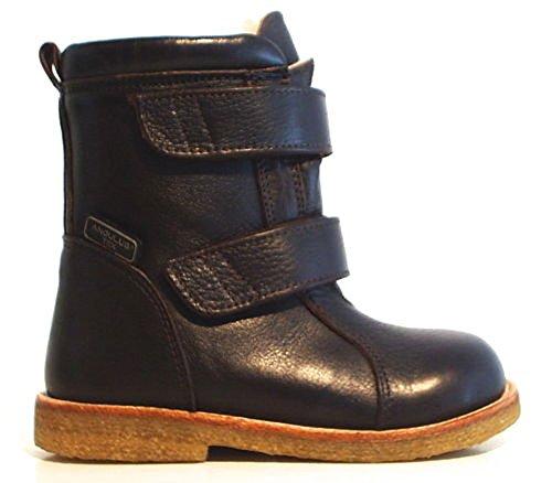 Angulus TEX Stiefel Leder braun Schafwolle jetzt bestellen