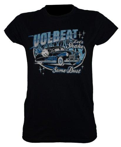 Volbeat-maglietta da ragazza Car and dice taglia S-Band maglietta