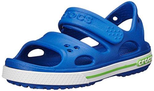 crocs Cbnd2SndlPS Sbl/Whi C9, Sandali bambini Blu Blau (Sea Blue) 25/26