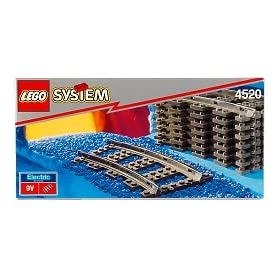 Lego Curved Train Track 4520
