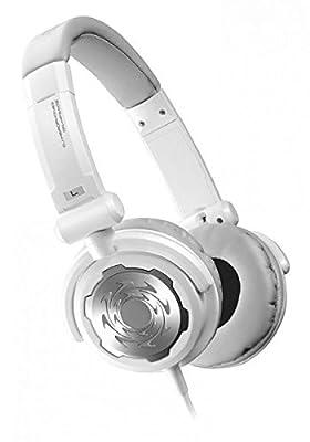 Denon DJ DN-HP500S   Comfortable Full-Size Supra-Aural On-Ear Dynamic DJ Headphones (White / 40mm / 1300mW)