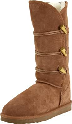 Ukala Women's Taj High Boot,Chestnut,5 M US