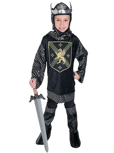 Kids Renaissance Warrior King Costume – Child Small image