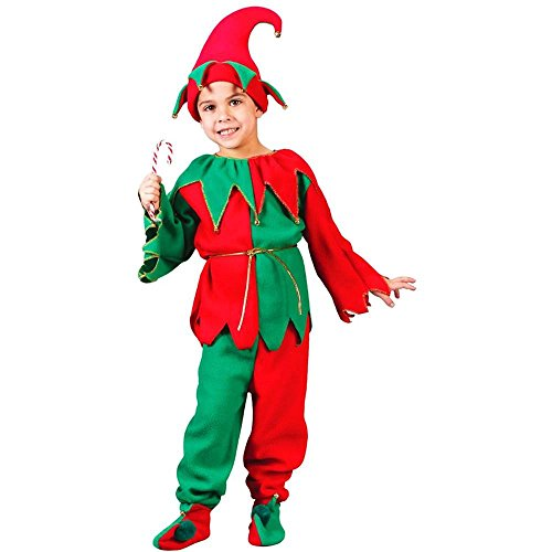 Christmas Elf Unisex Kids Costume