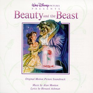 Original album cover of Beauty And The Beast: Original Motion Picture Soundtrack by Howard Ashman