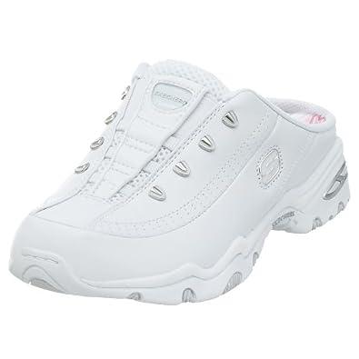 Skechers Women's Walkabout Mule Sneaker,White,7 M