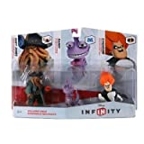 TAKE-TWO Disney Infinity Figure 3-Pack - Villain Includes: Randy, Davy Jones, Syndrome. / 1108790000000 /