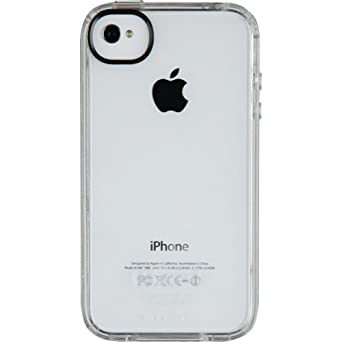 Speck Products SPK-A0814 GemShell Case for iPhone 4S -  1 Pack - Retail Packaging - Clear