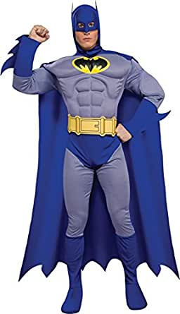 Morris Costumes Men's BATMAN BRAVE MUSCLE Costume