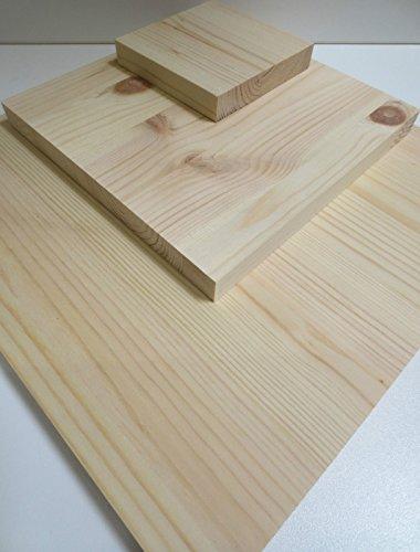 Leimholzplatte-Kiefer-28-mm-Regalboden-Mbelplatte-Holz-Massiv-Holzplatte-ZuschnittLxBxH-mm-1200x400x28