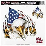 Lethal Threat Rip 'N' Tear Eagle 12 X 12 Decal