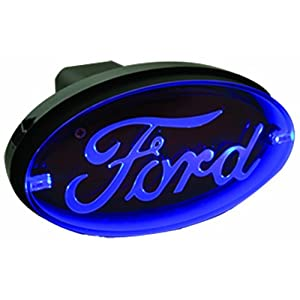 Bully CR-017F Oval Blue LED Hitch Brake Light