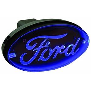 Bully CR-017F Oval Blue LED Hitch Brake Light