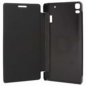 OTD Flip Cover for Micromax Bolt Q324 Black