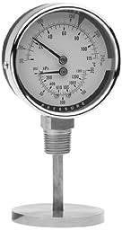 Trerice PTC14401 Bottom Stem Tridicator, 1/2\