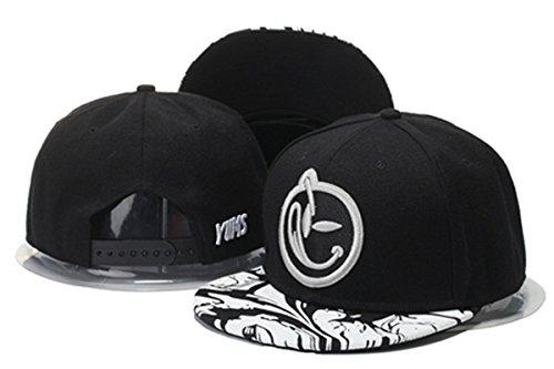 yums-classic-comfort-snapback-hat-adjustable-fashion-cap-black-2-one-size