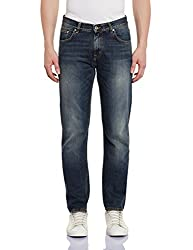 Gant Men's Straight Fit Jeans (8907163416131_GMJGB006_32W x 32L_Dark Blue)